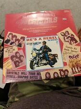New listing RARE THE CRYSTALS SING THEIR GREATEST HITS VINYL LP PHIL SPECTOR 1975 1st Press