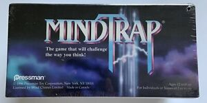 Mindtrap 1996 Over 500 Classic Puzzles - Vintage New Sealed Game By Pressman