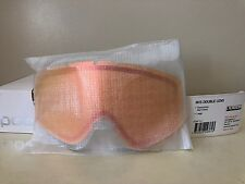 Snow Goggle Lens Replacement -POC Iris Double Lens -Large Persimmon red Mirror