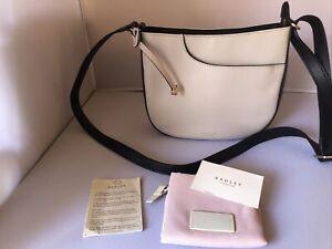RADLEY London Pockets Dove Grey Leather Medium Shoulder Bag - BNWT - RRP £199
