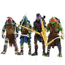 4PCS TMNT Teenage Mutant Ninja Turtles Action Figures Anime Movie Toys Gift