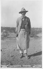 BR62355 prov catamarca campesino  argentina types folklore  real photo
