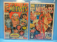 New Mutants 98 87 First Deadpool & 1st Cable Annual 2 Psylocke Comic Lot 85-100