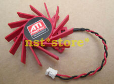 5PCS  Applicable for ATI HD5550 5570 5670 V4800 PLB05710S12HH Cooling Fan 2Pin