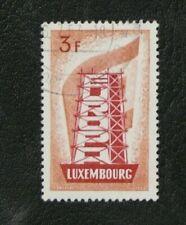 TIMBRES DU LUXEMBOURG : 1956 YVERT N° 515 Oblitéré - EUROPA - TBE