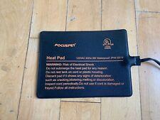 New listing Focuspet Under Tank Heater, Reptile Heating Pad 6''x 8'' Waterproof Uth Heat Mat