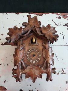 Vintage Cuckoo Clock Parts Or Repair. German ?????