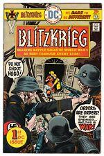 BLITZKRIEG #1 FEB 1976 FINE- 5.5 DC COMICS