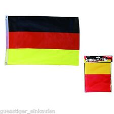 Deutschland Fanartikel WM 2018 Fußball Germany Flagge 60 x 90 cm mit Metallösen