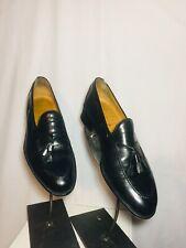 Christian Dior Men's Shoes Loafers Monsieur Tassel Black Size 8.5D