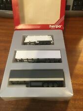 1/87 Scale 'HO' Herpa 7580 Trailer Triple Pack - Boxed