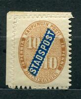 Finland 1866 Local issue for Helsingfors City Post/Stadspost  MNH SKU 896