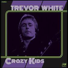 """TREVOR WHITE Crazy Kids 7"""" 45 JOOK SPARKS Junkshop Glam Power Pop 2016 reissue"""