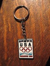 Vancouver Olympics Keychain - 2010 Canada Winter Olympic Games Team USA Key Ring