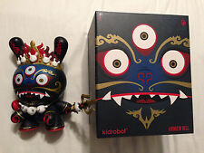 "Black Mahakala 8"" Dunny by Andrew Bell and Kidrobot"