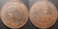 France - IIIème République - 2 centimes Cérès 1877 A, SUP !! - F.109/2