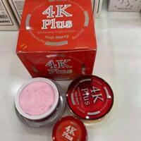 4K Plus Whitening Night Cream Goji Berry Natural Extracts firming smoothskin 20g