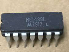 (2 PC)  MOTOROLA  MC1488L   Line Driver, 4 Driver, 14 Pin, Ceramic, DIP