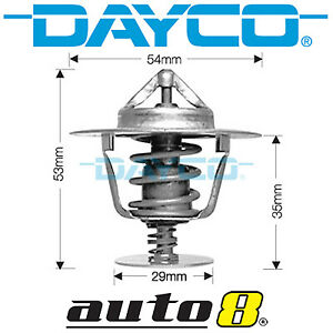 Dayco Thermostat for Honda Civic FD 1.8L Petrol R18A1 2006-2012