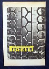 B755-Advertising Pubblicità-1953-PIRELLI STELVIO