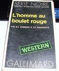 LIBRO L'HOMME AU BOULET ROUGE GALLIMARD SUSSMAN MANCHETTE 1972