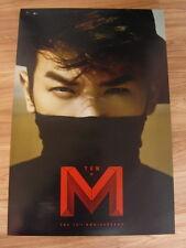 LEE MIN WOO [SHINHWA] - M+TEN [ORIGINAL POSTER] *NEW* K-POP MINWOO