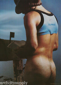 POSTER : U. S. MALE -  SEXY MALE MODEL -  FREE SHIPPING - #16-254  LC17 O