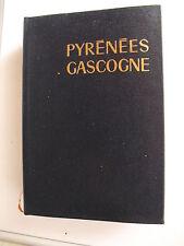GUIDE BLEU PYRENEES GASCOGNE Hchette 1972