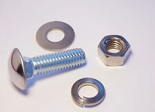 """Ford Round Head Bumper Bolts Bolt 7/16 x 1-1/2"""" with STAINLESS STEEL HARDWARE"""