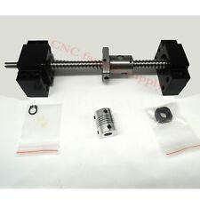 SFU1204Set lead screw ball screw antibacklash ballscrew 1204-700mm-C7+BK/BF10