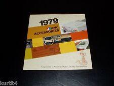 1979 AMC Pacer AMX Spirit Concord Accessories sales brochure dealer literature