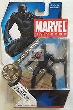 "BLACK PANTHER #005 MARVEL Universe HASBRO 2008 3.75"" INCH Action Figure"