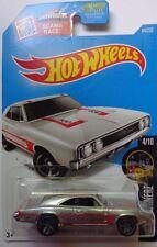 2016 Hot Wheels Night Burnerz 4/10 '69 Dodge Charger 500 84/250 (Zamac Version)