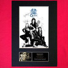 Queen Autographed Rock Music Memorabilia