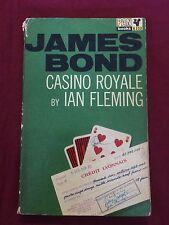 Casino Royale by Ian Fleming - James Bond vintage UK pb
