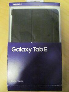 "Genuine Samsung Galaxy Tab E 9.6"" Black Book Cover Tablet Case inc VAT"