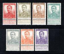 111/117 MNH 1912 - Z.M. Koning Albert 1