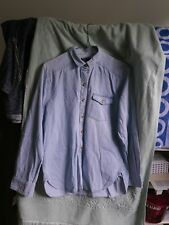 BDG Urban Outfitters Jean Blue Shirt Oversize Fit Size XS