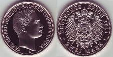 2 Mark 1911 Sachsen-Coburg und Gotha PP