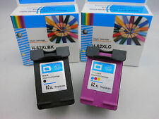 HP62XL Black & HP62 XL Color Ink Cartridge for HP Envy 5640 5646 5660 7640 7644
