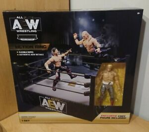 AEW Action Ring With Exclusive Cody Figure Uk Exclusive Aew Unrivaled Collection