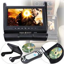 "CENTER CONSOLE 8.5"" ARMREST MP3 DVD PLAYER MONITOR ROTATING SCREEN HEADPHONES"