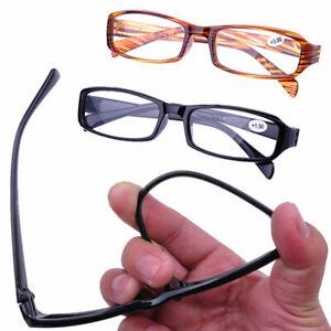 Unisexe Lunettes de Lecture Résine Cadre Presbyopia Ultra Léger pour Âgés People