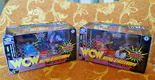 1998 WCW Nitro Streetrods Mini Cars Limited Edition Set of 4 (Two Boxes)