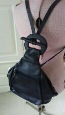 Russell & Bromley Leather Vintage Backpack Rucksack - GC