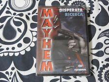 DVD - MAYHEM - DISPERATA RICERCA - SIGILLATO