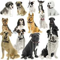 Leonardo Collection Dog Studies Walkies Large Decorative Ornament Figurine Gift