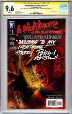 NIGHTMARE ON ELM STREET #1 (2006) CGC 9.6 SS Signed & Quote by Robert Englund!!