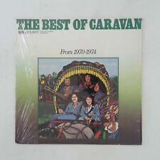CARAVAN The Best Of From 1970 to 1974 LC50011 LP Vinyl VG++ Cover Shrink 1974