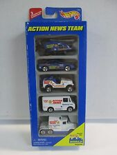 Hot Wheels Gift Pack Action News Team 5 Pack